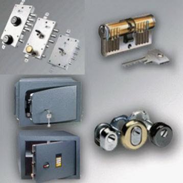 Chaves de Almada comercializa cofres e todos os tipos de acessórios de segurança para portas e fechaduras