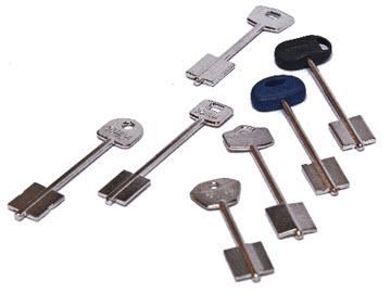 duplicação de todos os modelos de chaves